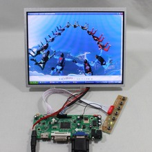 HDMI VGA DVI lcd Control board work with 10.4inch G104X1 L04 1024×768 lcd panel