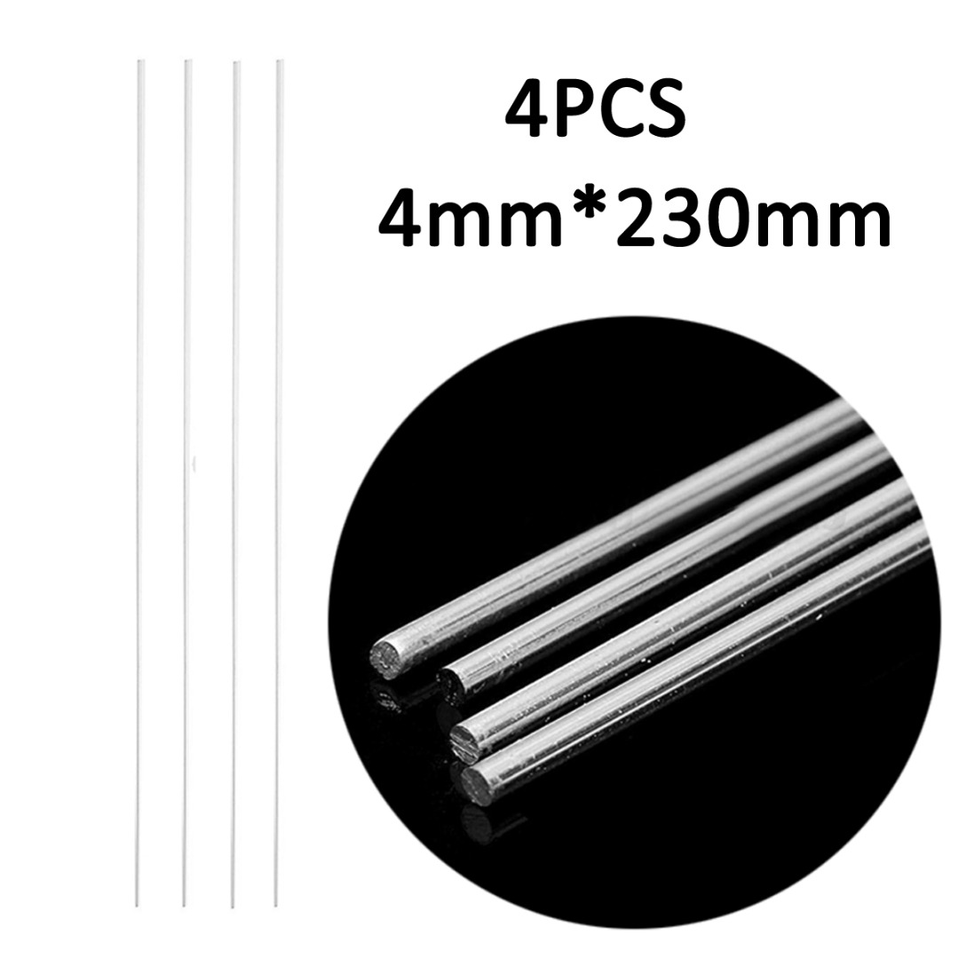 цена на 4pcs Aluminum Welding Rods Low Temperature Tig Soldering Brazing Stick Rod 4mmx230mm