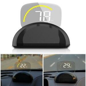 Image 2 - 2018 ใหม่มาถึงC700 C700S OBD2 HUD OBD II HD Head Upแสดงความเร็วแรงดันไฟฟ้าอุณหภูมิน้ำOverspeedสัญญาณเตือนRPMสำหรับรถยนต์