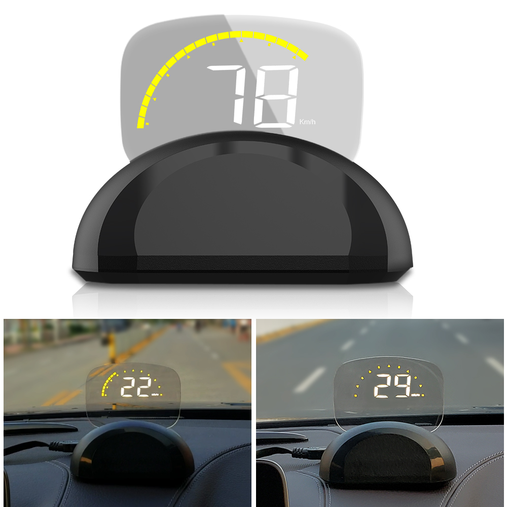 Image 2 - 2018 New Arrival C700 C700S OBD2 Car HUD OBD II HD Head Up Speed Display Voltage Water Temperature Overspeed RPM Alarm For Car-in Head-up Display from Automobiles & Motorcycles