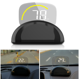 Image 2 - 2018 New Arrival C700 C700S OBD2 Car HUD OBD II HD Head Up Speed Display Voltage Water Temperature Overspeed RPM Alarm For Car