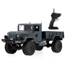 FY001A 1/16 RC автомобиль 4WD 2,4 ГГц 3000 г нагрузка военный грузовик внедорожный RC автомобиль гусеничный с светодиодный фары для детей Подарки