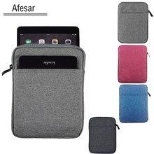 Universal 7 7.9 pulgadas Tablet ebook caso de la bolsa para el ipad Mini Tab Nota A6 7.0 zenpad z380 ONYX BOOX PocketBook SURFpad Huawei manga