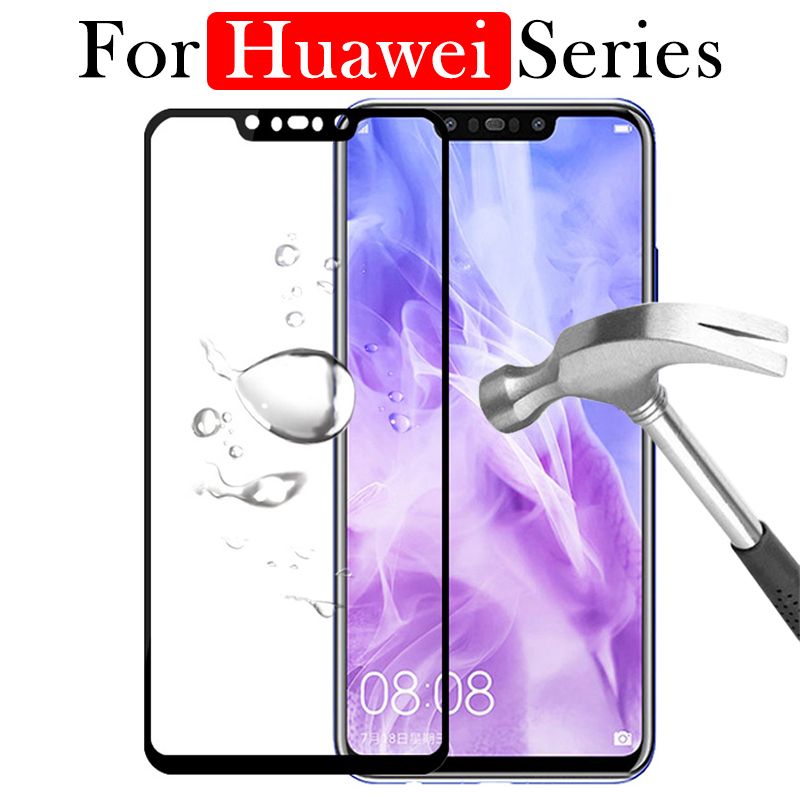 Tempered Glass <font><b>Case</b></font> For <font><b>Huawei</b></font> P10 P20 <font><b>Lite</b></font> Protective Glas P <font><b>Mate</b></font> <font><b>10</b></font> 20 <font><b>Lite</b></font> Pro P20lite P10lite P20pro P Smart Plus <font><b>Full</b></font> <font><b>Cover</b></font> image