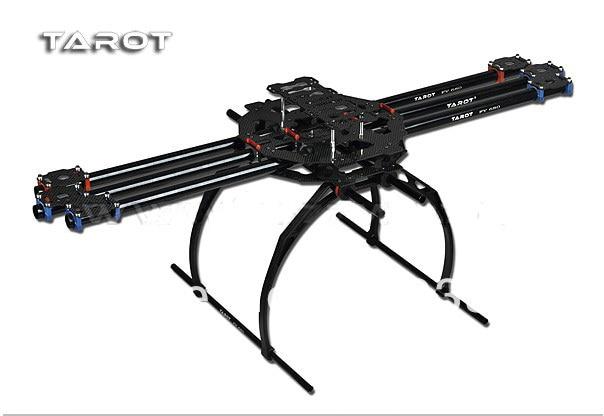 Tarot FY680 Full Folding Hexacopter 680mm FPV Aircraft Frame TL6802