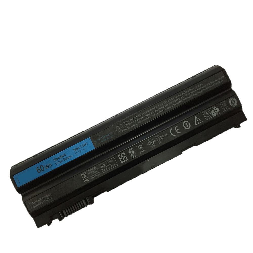 Купить с кэшбэком 11.1v 60WH/6CELL New Original E6420 Laptop Battery for Dell Latitude N3X1D T54FJ E6420 E6430 E6520 E6530 E5420 E5430 E5520 E5530