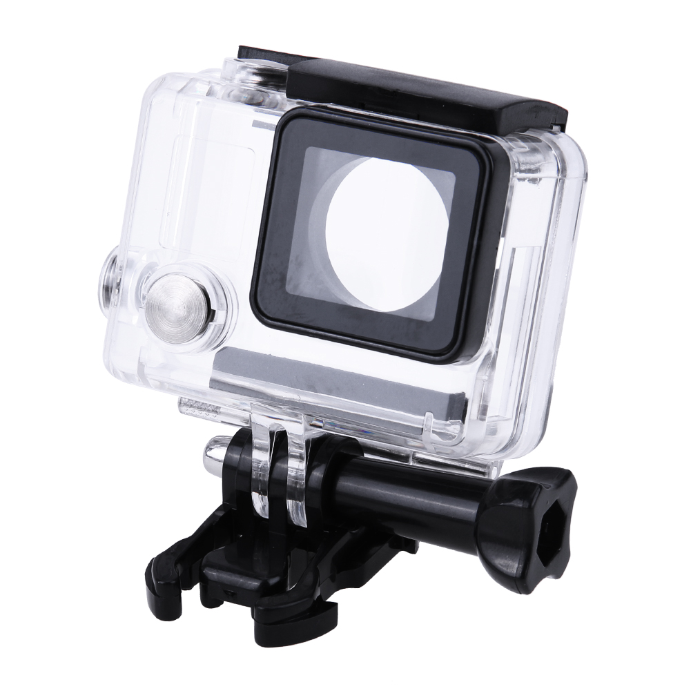 Action Camera Housing Case Camera Plastic Protector Side Opening Shell Frame with Stand Stabilizer for GoPro