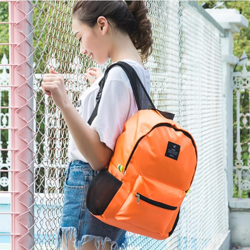 IUX Women Folding Travel Backpack School Bag For Teenage Girl Journey Hand Backpacks Nylon Waterproof Casual Laptop Bagpack IUX Women Folding Travel Backpack School Bag For Teenage Girl Journey Hand Backpacks Nylon Waterproof Casual Laptop Bagpack