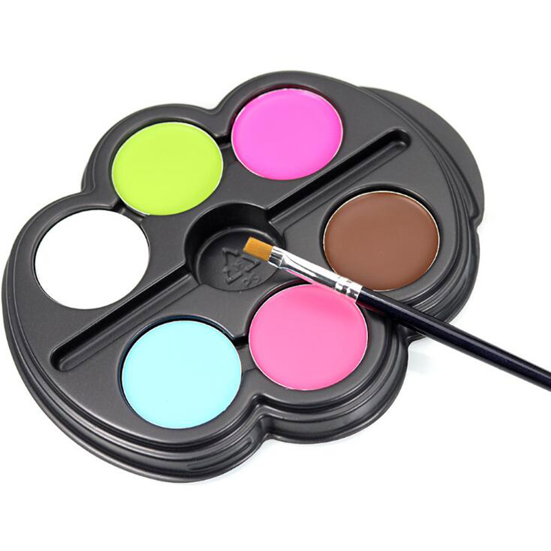 Aliexpress.com : Buy 6 Colors Face Paint Halloween Makeup Non ...