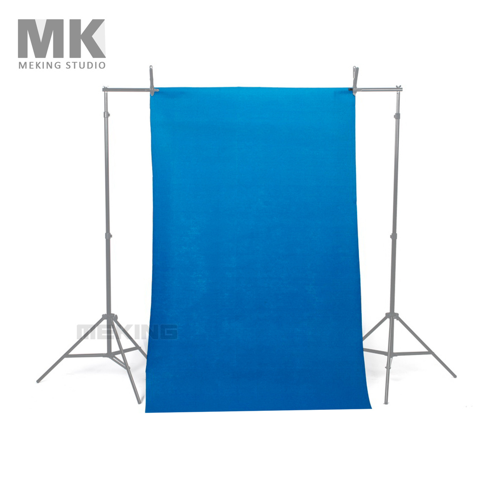 NOUVEAU 10*20ft/3*6 m Chroma Key Bleu Solide Transparente Photographie Muslin Toile de Fond Fond de Studio Tissu