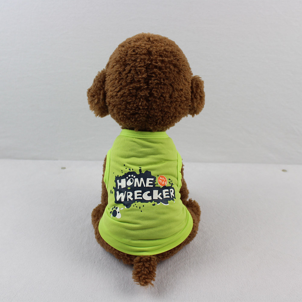 Dog Clothes For Small Dogs Pet Products Clothing Cute Dog T Shirt Pet Clothes Apparel Vest Costumes Summer