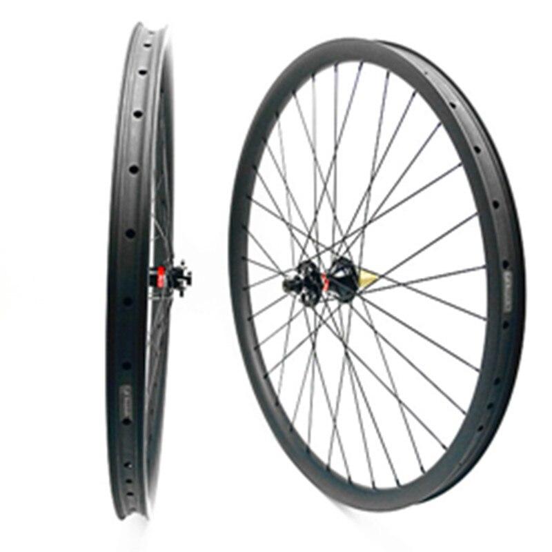 29er roues 791 462 boost 110x15 148x12mm roue de bicyclette 35mm 1610g pilier 1420 parle de carbone vélo roues