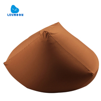 Levmoon Square Beanbag Sofa Chair Adult Seat Zac Bean Bag Bed Cover Without Filling Indoor Beanbags