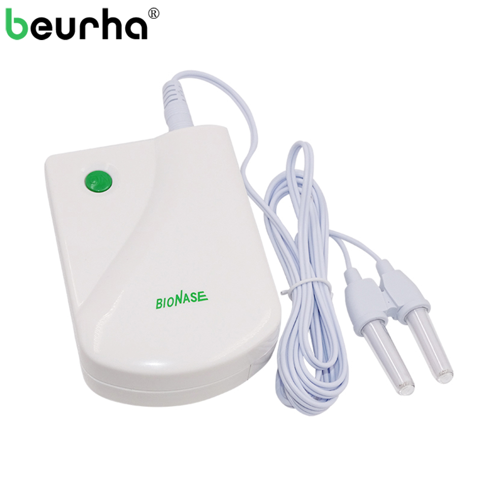 BioNase Nose Rhinitis Sinusitis Cure Therapy Massage Hay Fever Low Frequency Pulse Laser HealthCare Machine Instrument Massager bionase nose rhinitis allergy laser sinusitis therapy massage tool hay fever low frequency pulse and laser therapy instrument