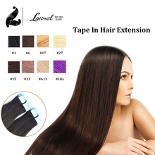Cheap Tape Hair Extensions 16″18″20″22″24″ 20Pc/Set Brazilian Virgin Straight PU Skin Weft Remy Tape In Human Hair Hot Selling