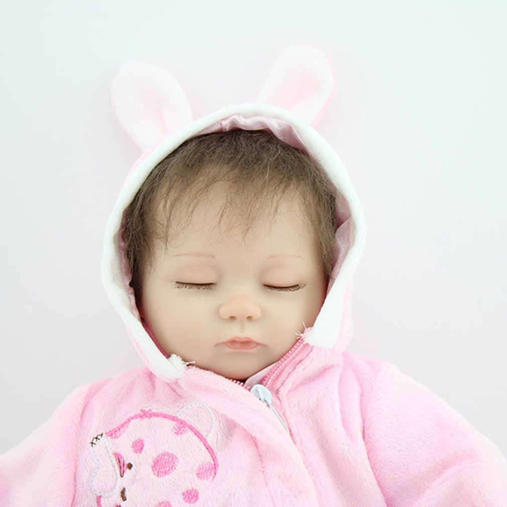 OCDAY 16 Inch Reborn Baby Doll Soft Silicone kids Playmate Gift For Girls Baby Alive Toys For Bouquets Doll Bebe Reborn Toy Gift 57cm full silicone shower doll reborn baby boy doll kids playmate gift handmade lifelike bebe juguetes babies toys for bouquets