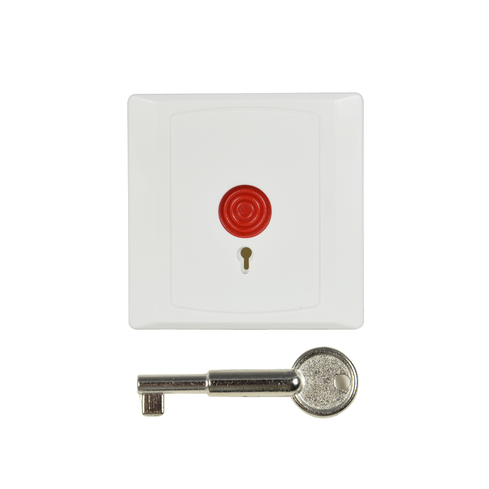 10 Pcs Panic Button For Security Alarm Wall Mounted Nc No