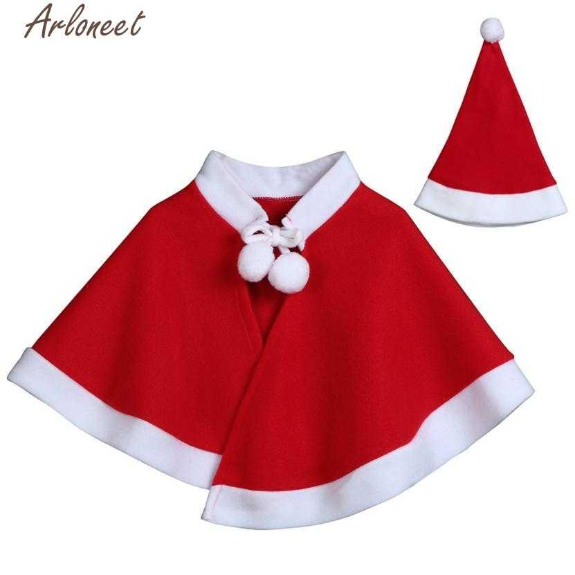 ARLONEET ילדים של ילדי חג המולד תחפושת קוספליי גלימת גלימת עבור תינוק בנים בנות בגדי P30 Dec04
