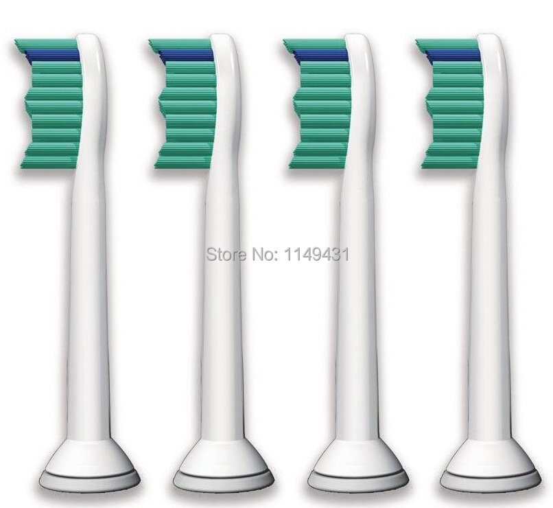 1600pcs/lot (4pcs=1pack) For Philips Sonicare HX6013 Proresults Standard Replacement Tooth Brush Heads  Free shipping electric toothbrush replacement heads fits for philips proresults sonicare hx6730 hx6942 p hx 6013