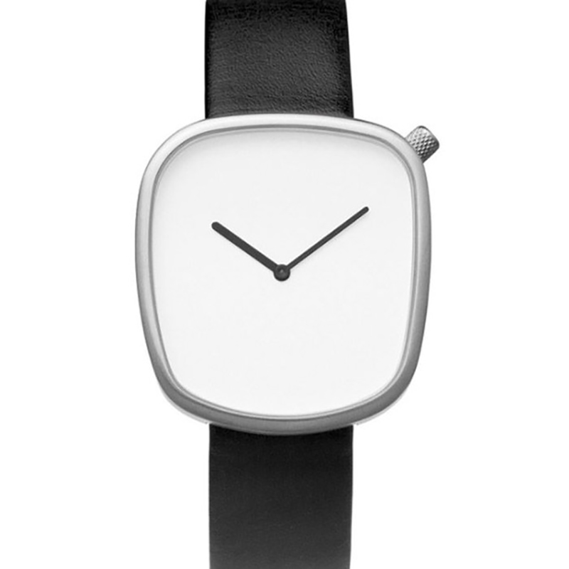 Fashion Simple Pebble Wrist Watch Women Neutral Men Thin Lady Quartz Minimalist Relogio Feminino Male Montre Femme Hodinky 36 ultra thin watch male student korean version of the simple fashion trend fashion watch waterproof leather watch men s watch quar