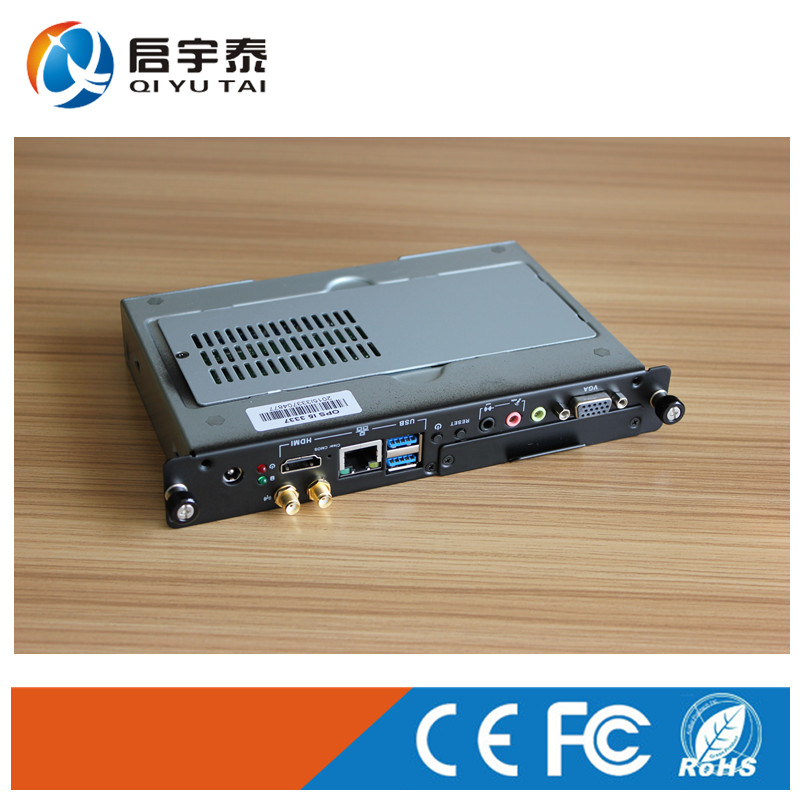 OPS Computer /Industrial compouter with Inter i5-3337U 1.8GHz with 4GB DDR3 32G SSD/VGA USB RJ-45 HDMI COM