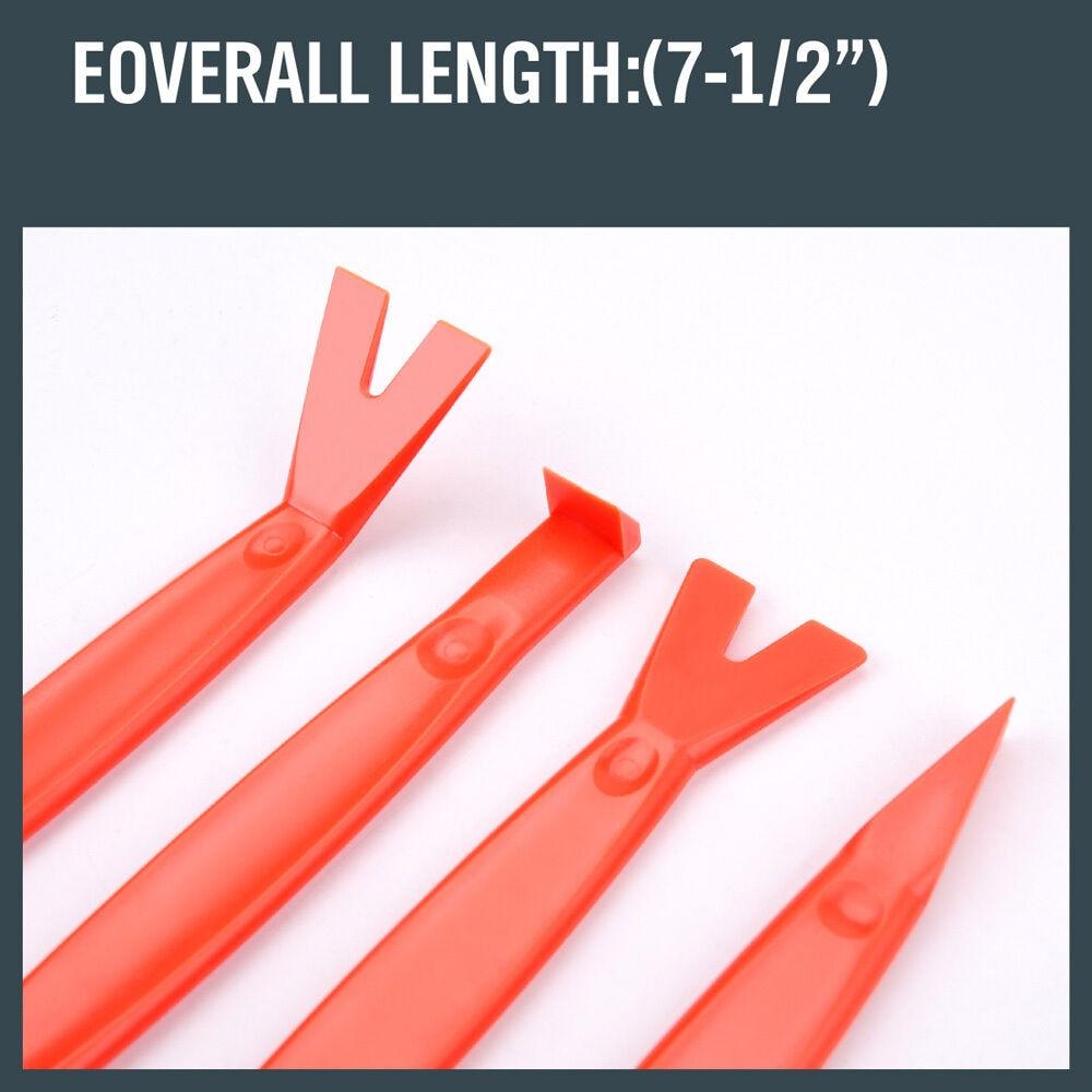 SEDY 4Pcs Kit di strumenti per la rimozione delle rifiniture per auto - Utensili manuali - Fotografia 3
