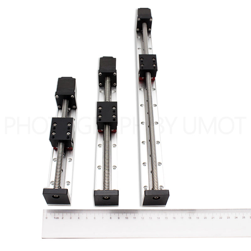 wholesale compact 30mm rail width miniature linear module slide table low speed 1-axis guideway for light loadswholesale compact 30mm rail width miniature linear module slide table low speed 1-axis guideway for light loads