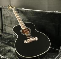 Top Quality E J200A 43''Jumbo Electric Acoustic Guitar Fishman EQ Mahogany Neck Grover Tuner Black Color