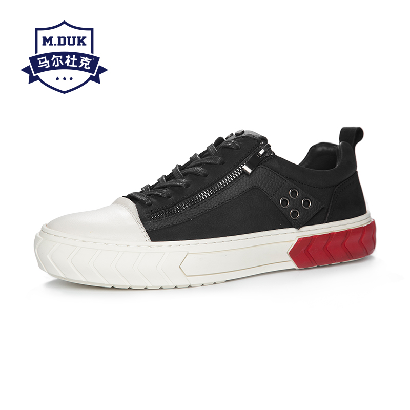 Autumn new men's shoes Korean version trend shoes men youth fashion casual shoes men black shoes all-match cowhide breathable все цены