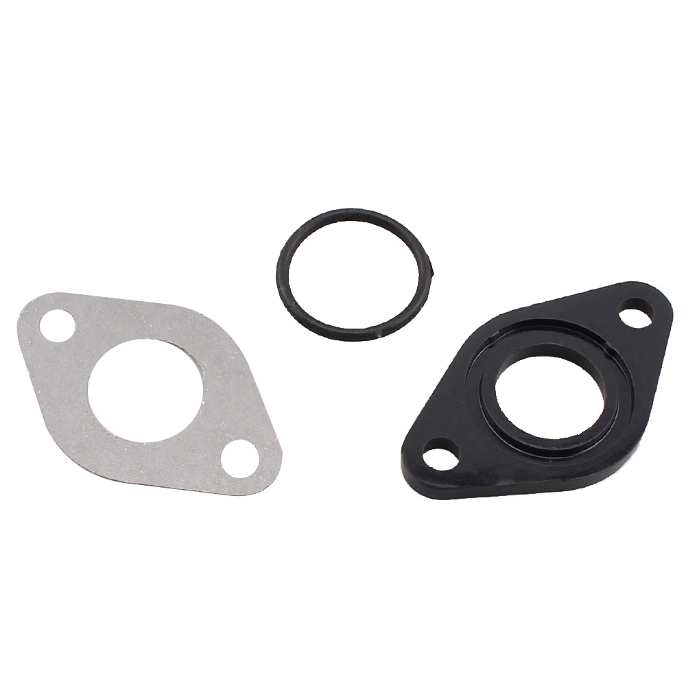New PZ16 PZ19 PZ20 20mm Carb Isolater Carburetor Gasket O Ring Spacer For <font><b>Pit</b></font> Dirt <font><b>Bike</b></font> 110CC <font><b>125CC</b></font> Black & Green image