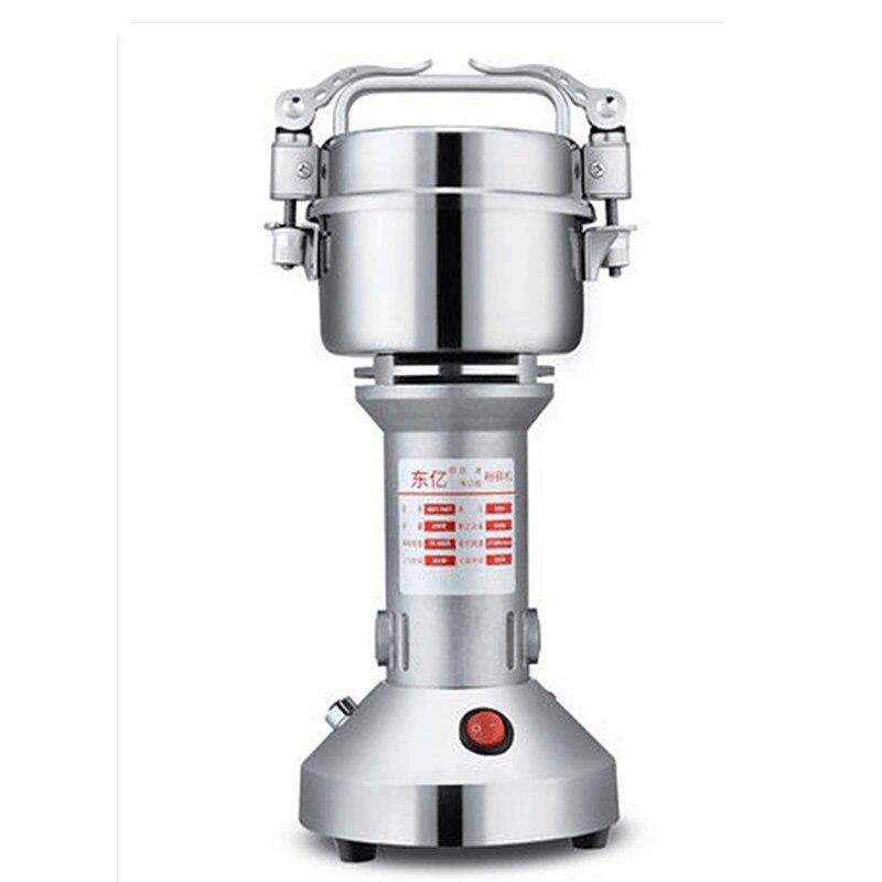 220 v 200g Multifuncional Gristmill Grãos Medicina Moedor Elétrico Ultra-fino Especiarias Hebals Cereais Triturador Moedor De Café