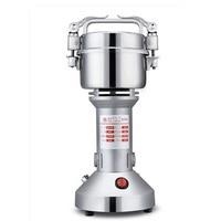 220V 200g Multifunctionele Elektrische Grinder Ultra fijne Gristmill Geneeskunde Korrels Kruiden Hebals Granen Koffie Crusher Grinder-in Elektrische Koffiemolens van Huishoudelijk Apparatuur op