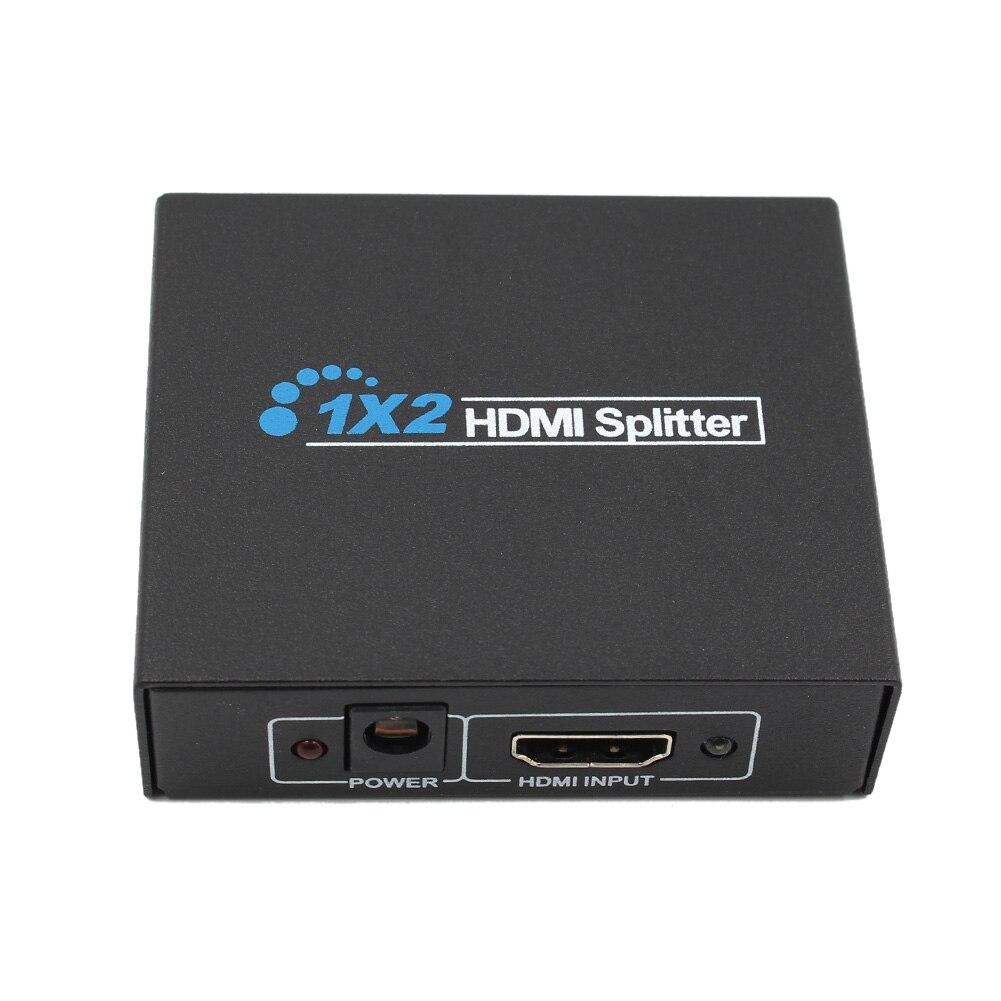 1x2 2 Port Hdmi Audio Extractor HDMI zu HDMI und Optische TOSLINK SPDIF Audio Extractor Konverter HDMI Audio Spliter