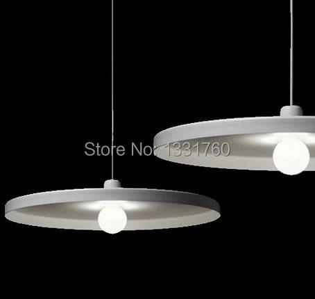 D35cm  Modern suspension lamp white and black color tossB Disc pendant lamp Belgium design lighting Toss B light free shipping forward terra 2 0 disc 16 2014 white black
