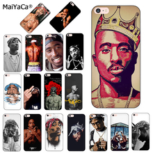 MaiYaCa 2pac Tupac And Biggie Luxury Quality black silicone soft Phone Case