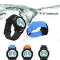 Bluetooth smart watch teléfono ip65 impermeable apoyo smartwatch podómetro monitor del ritmo cardíaco reloj de pulsera redonda para android ios