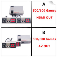 FGHGF 6 Styles Mini Console Support HDMI AV TV Handheld Game Player Video Game Console To