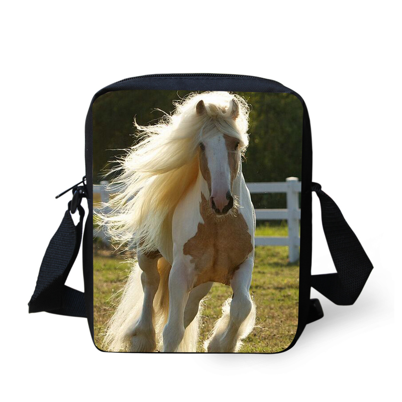 Jeremysport Long Tail Horse Lovely Design Messenger Bags For S Women Shoulder Cross Body Bag Casual Animals Stachel In Crossbody From Luggage