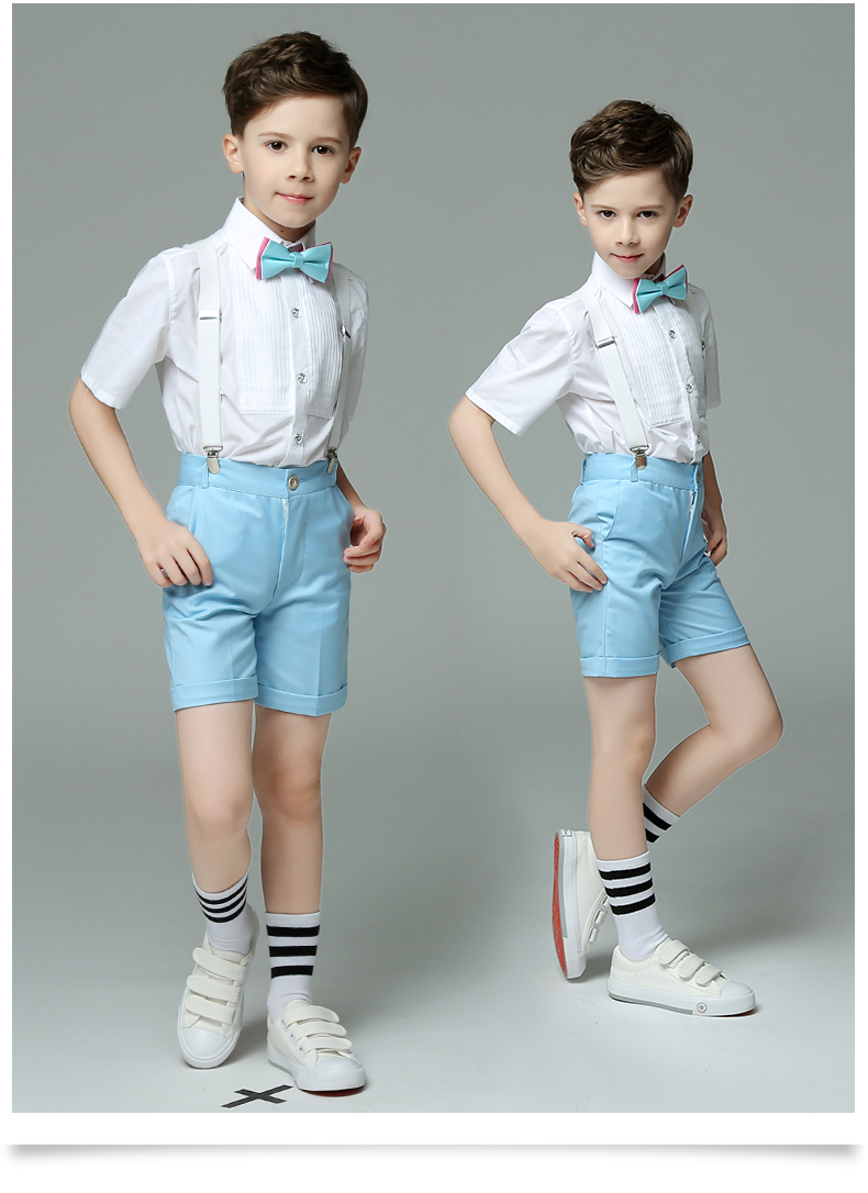 kids suit tuxedos boys suit boys wedding Summer Boy Suit Wedding ...