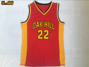 Uncle GG 22 Red Basketball Jersey Carmelo Anthony Oak Hill High School  Jersey 1adeb78dd
