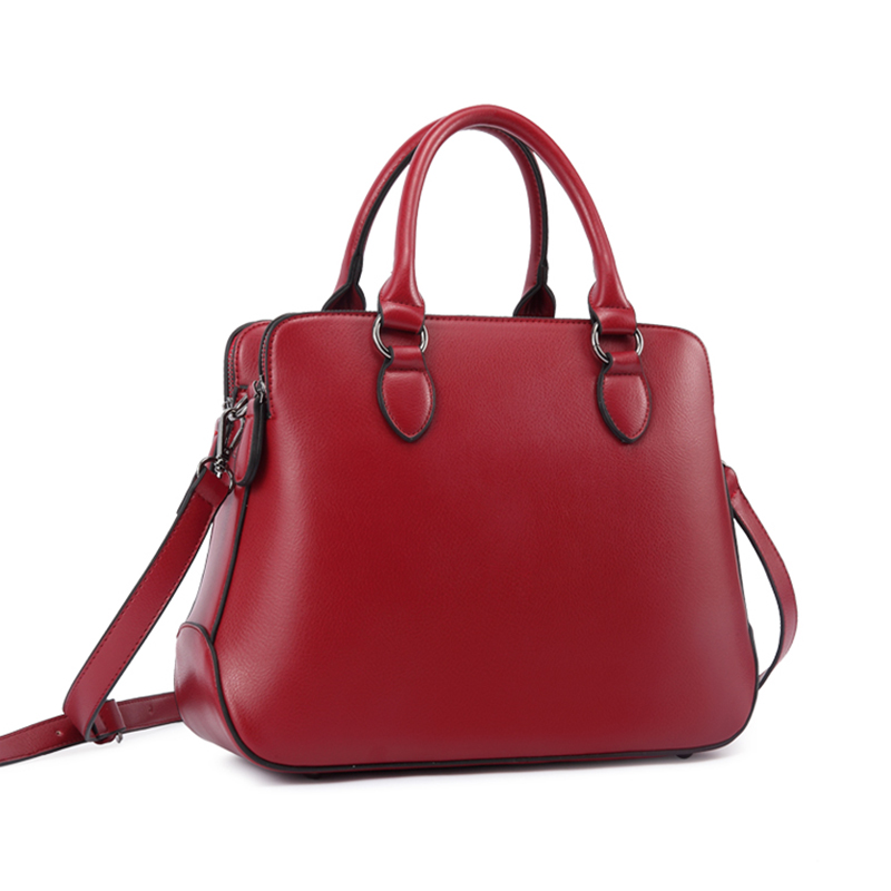 COUPON shoulder bags ladies handbags woman good leather solid red ...