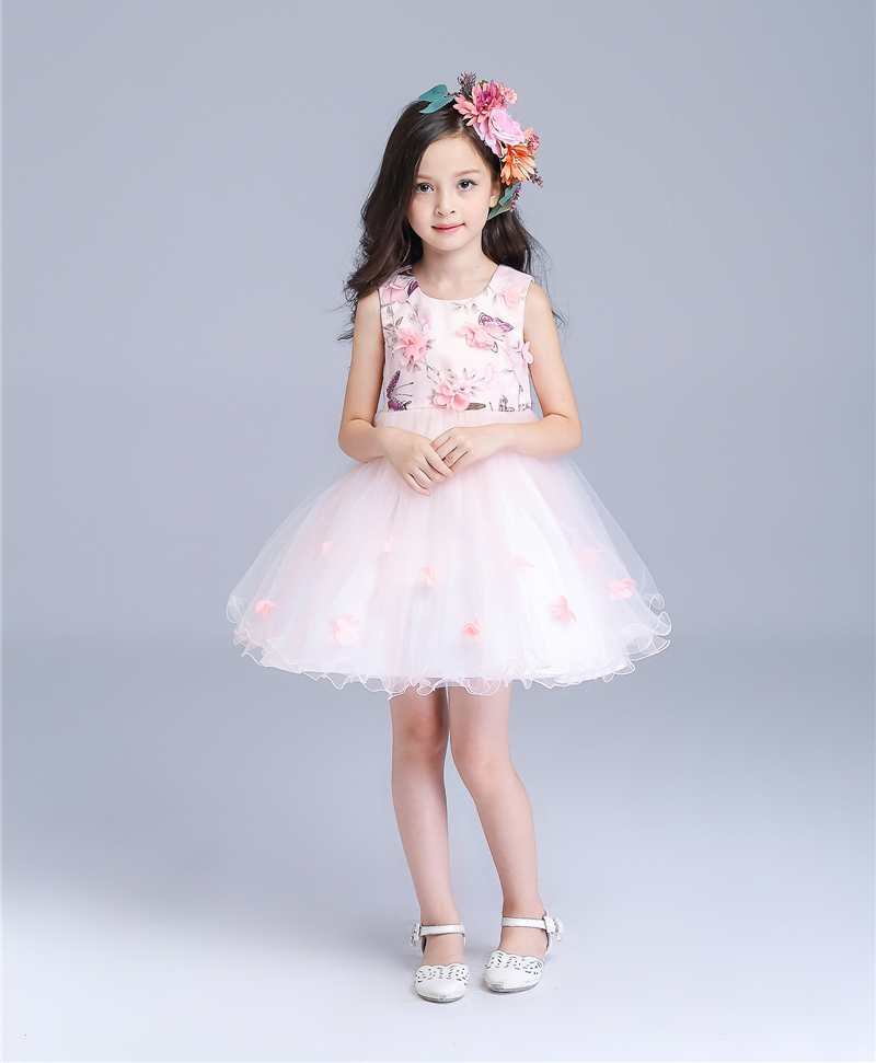 2016 Brand New Flower Girl Dresses  pink  Real Party Pageant Dresses for girls  Little Girls Kids/Children Dress for Wedding built in wireless charger charging receiver module for samsung galaxy note 3 n9000 n9002 black