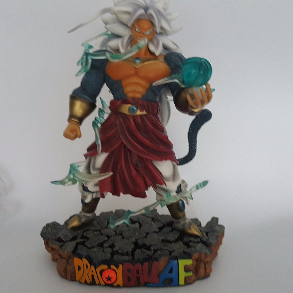 Dragon Ball Z Action Figures Broly 5 Resin Super Saiyan Resina Figures Anime Dragon Ball Model Toy Esferas Del Dragon top bulma bunny girl dragon ball japanese anime figures action