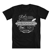 "Newest 2019 Men T-shirt Fashion The Blacklist "" Red's Haberdashery "" Men's T-shirt(China)"