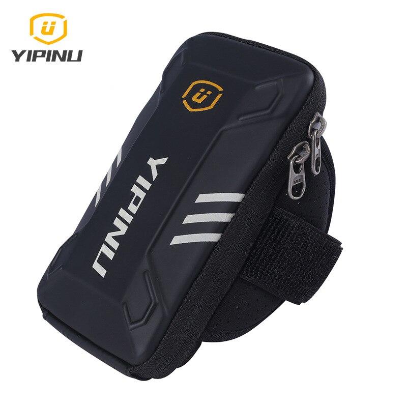 YIPINU Arm Bag Sports Mobile Phone Bag Outdoor Riding Sports Equipment