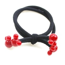 10PCS/lot Lovely  Apple  Mickey Rope Hair Accessories For Headband,Elastic Bands For Hair For Girls,Hair Band Hair  For Kids