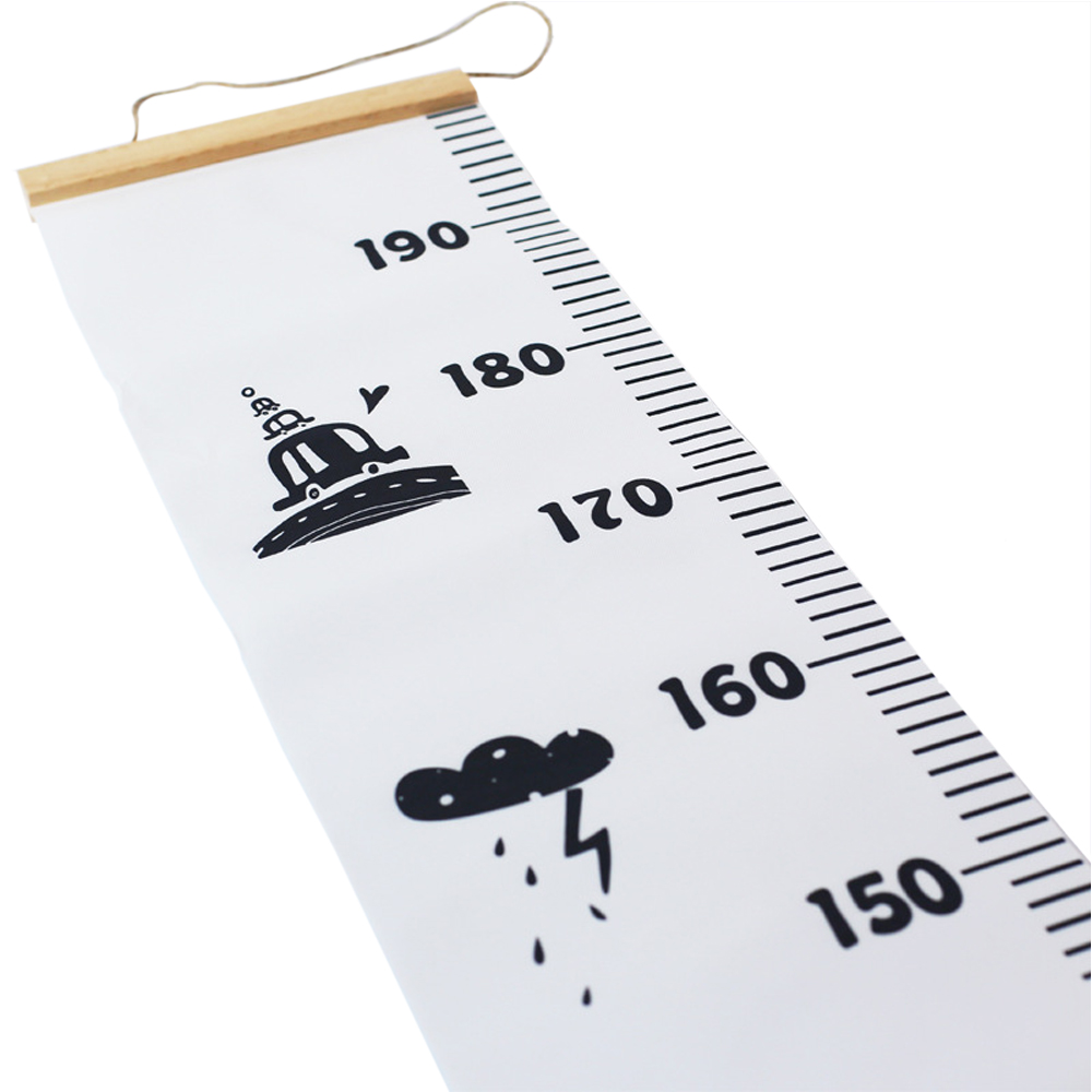 Wall hanging growth chart height measurement rulers removable wall hanging growth chart height measurement rulers removable growth chart wall decal wall sticker ruler for kids art room decor in wall stickers from home nvjuhfo Images