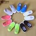 Nova marca de moda estilo crianças sapatos meninos meninas sapatos casuais menino meninas sapatos de cores doces doces crianças sapatos