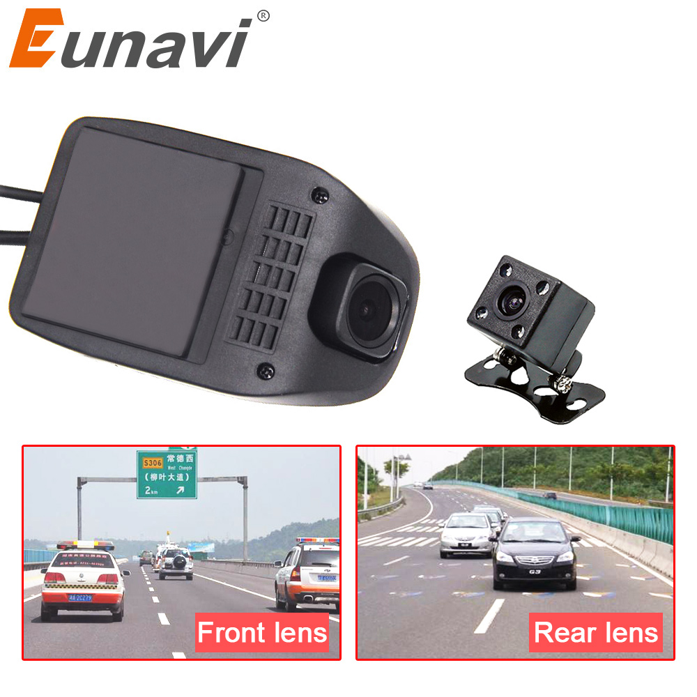 Eunavi Car DVR for Android Car radio DVD Starlight HD Night vision USB Port HD1080P Car