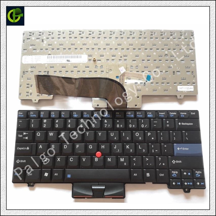 Anglais clavier pour LENOVO thinkpad SL410 L410 SL510 L420 L410 L510 L412 L512 L520 L421 SL410K SL510K NOUS ordinateur portable